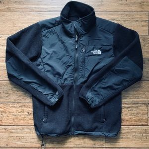 The North Face - Mixed Material Fleece Jacket